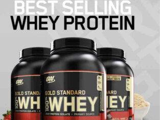 ON Gold Standard 100% Whey protein 5 lbs (2.27 kg)