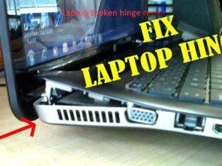Laptop Hinge Repair