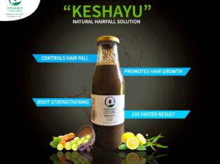 Control your Hair Fall with KESHAYU Hair Pack