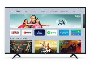 MI 43 INCH 4K SMART ANDROID LED TV