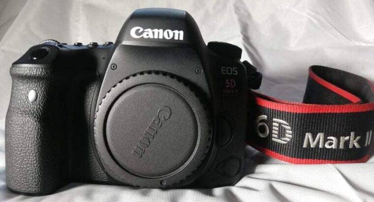 Canon EOS 6D Mark II DSLR Camera | Wi-Fi Enabled